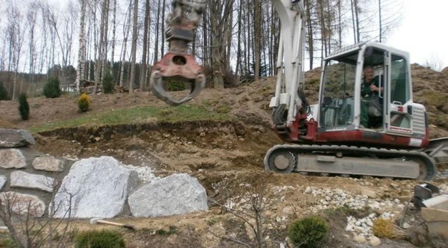 Natursteinmauer Pillberg