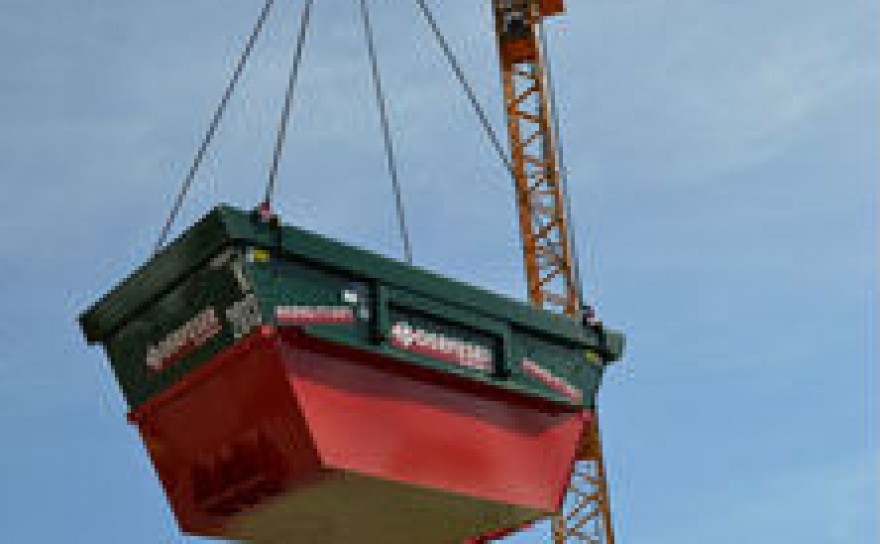 Container für Kranbetrieb
