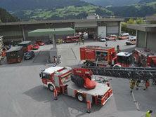 Feuerwehrübung Abschnitt Schwaz