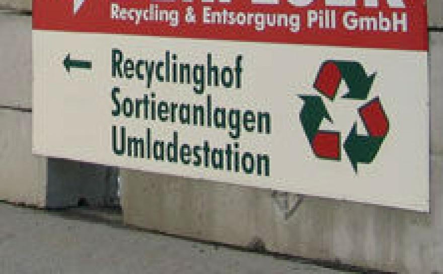 Öffnungszeiten Recyclinghof Pill
