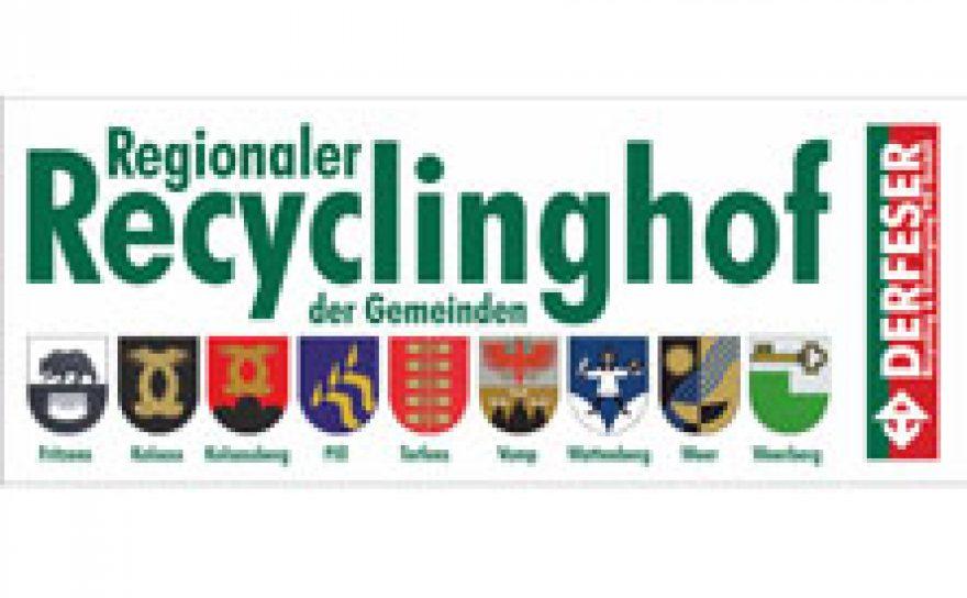 Öffnungszeiten Recyclinghof
