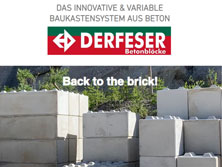 Baukastensystem aus Beton