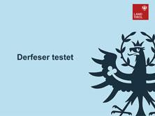 Derfeser testet